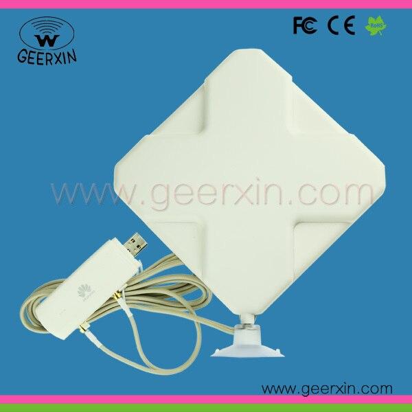 ¡ Caliente! 2 unids de Alta Ganancia 3G 4G Router Antena Interior 3 m cable y conector macho f