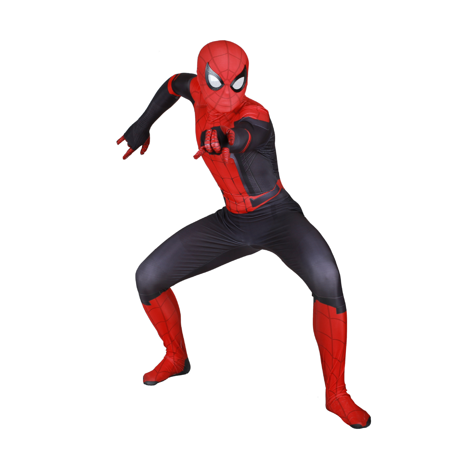 Cosplay clothes For Adult Spider Man Far From Home Cosplay Costume Zentai Spiderman Costume Cosplay  Halloween Play Costume belt