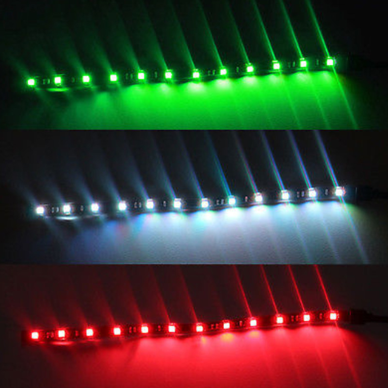 "4x Boat Navigation LED Lighting RED /& GREEN 12/"" Waterproof Marine LED Strips"