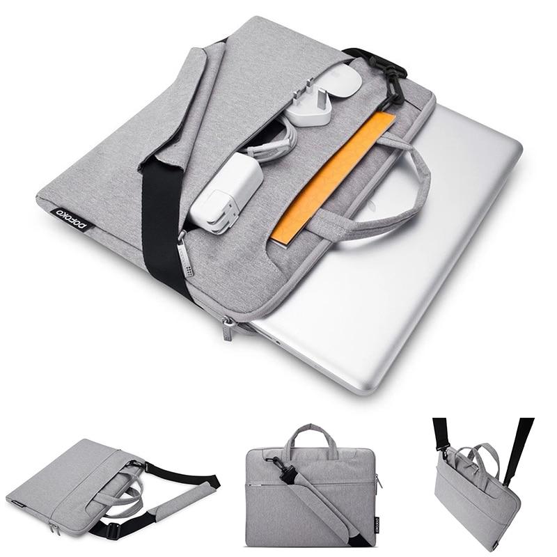 Pofoko Waterproof Laptop Bag Case for Macbook Pro 13 15 2016 Bag for Xiaomi Notebook Shockproof Laptop Case for Macbook Air 13.3 fashion laptop sleeve for macbook air 13 pro 13 15 case waterproof felt laptop bag case for xiaomi notebook air 13 3 laptop bags