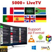 Europe IPTV M3U code subscription Netherland Germany Arabic Belgium Sweden French Israel CA USA 6000+ Live greek IPTV Latin M3U цена 2017
