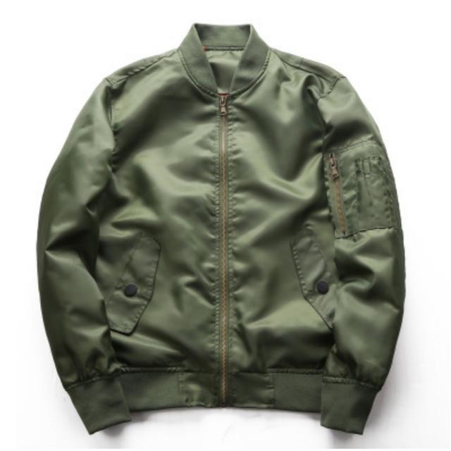 Мужская куртка-бомбер на молнии мужская повседневная Уличная Хип-хоп приталенная куртка-пилот Мужская одежда весна-осень куртка плюс размер 4XL
