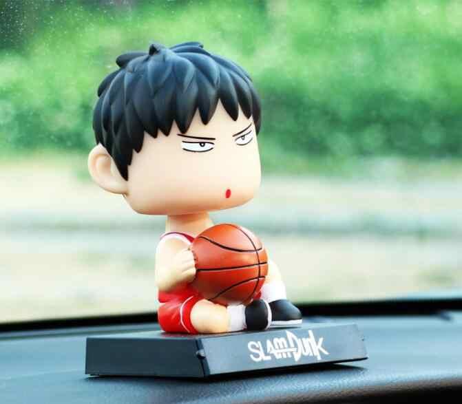 Anime Slam Dunk Hanamichi Sakuragi Rukawa Kaede PVC figuras de acción coleccionable modelo niños juguetes muñeca 12cm