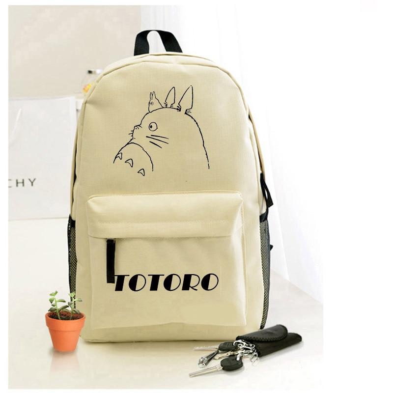 536faf8f9e419 Totoro rucksäcke Japanischen Anime Mein Nachbar Totoro tasche Wasserdicht  Laptop Schwarz Rucksack Umhängetasche Schultasche in Totoro rucksäcke  Japanischen ...