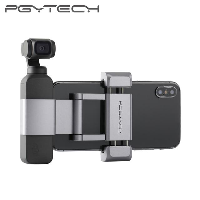 PGYTECH OSMO Pocket 2 Phone Holder Plus Set Foldable+All aluminum /Universal Tripod Bracket for DJI OSMO Pocket Accessories