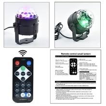 DJ Light Holiday Projector EU/US LED RGB Crystal Mini