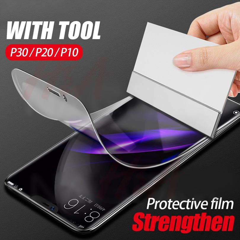 Handy-zubehör Handybildschirm-schutz Volle Bildschirm Hydrogel Film Auf Die Für Huawei P20 P30 Lite Pro P10 Plus Protector Film Honor 9 Lite 10 Schutz Film Nicht Glas