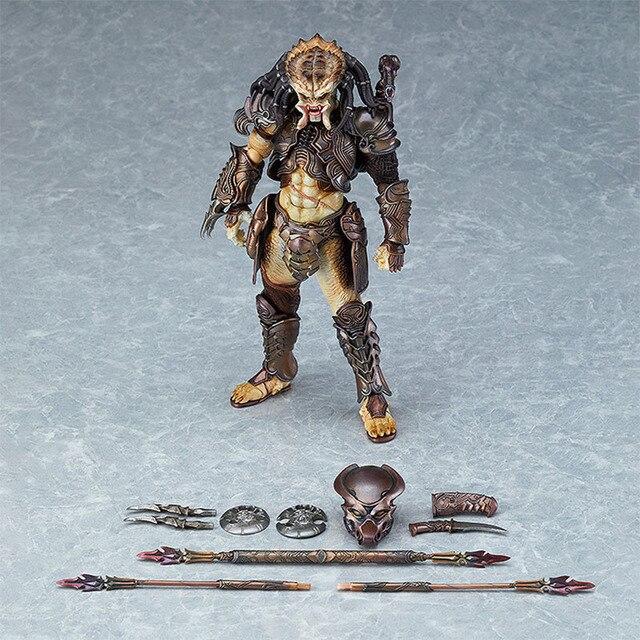 את Predator פעולה איור 16 CM Neca טורף 2 Figma109 PVC דמויות אנימה איור דגם צעצועים