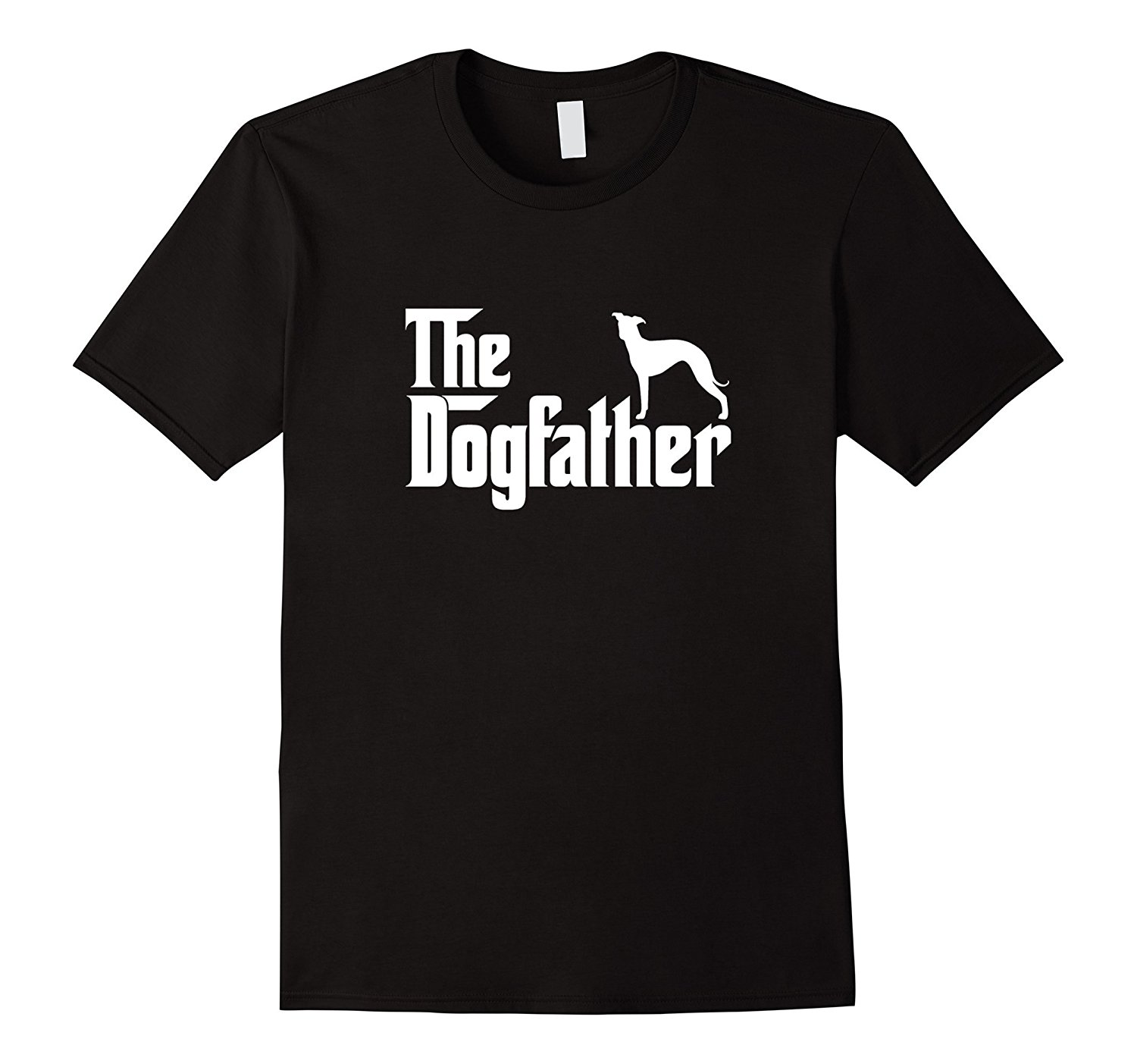 Italian Greyhound - The DogFather T Shirt Mens 100% Cotton Short Sleeve Print Cool Funny T-Shirt Men High Quality