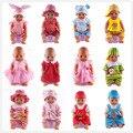 Кукла Аксессуары, 14 цвета комбинезоны Одежды Куклы Одежда подходит 18 дюймов American Girl, 43 см Baby Born zapf, дети лучший Подарок На День Рождения