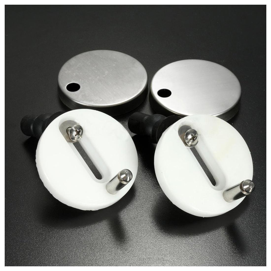 2 шт. DIY Пластик унитаза винты крепления Fit сиденья для унитаза петли Ремонт Инструменты Размеры: 4,4x2,4 см