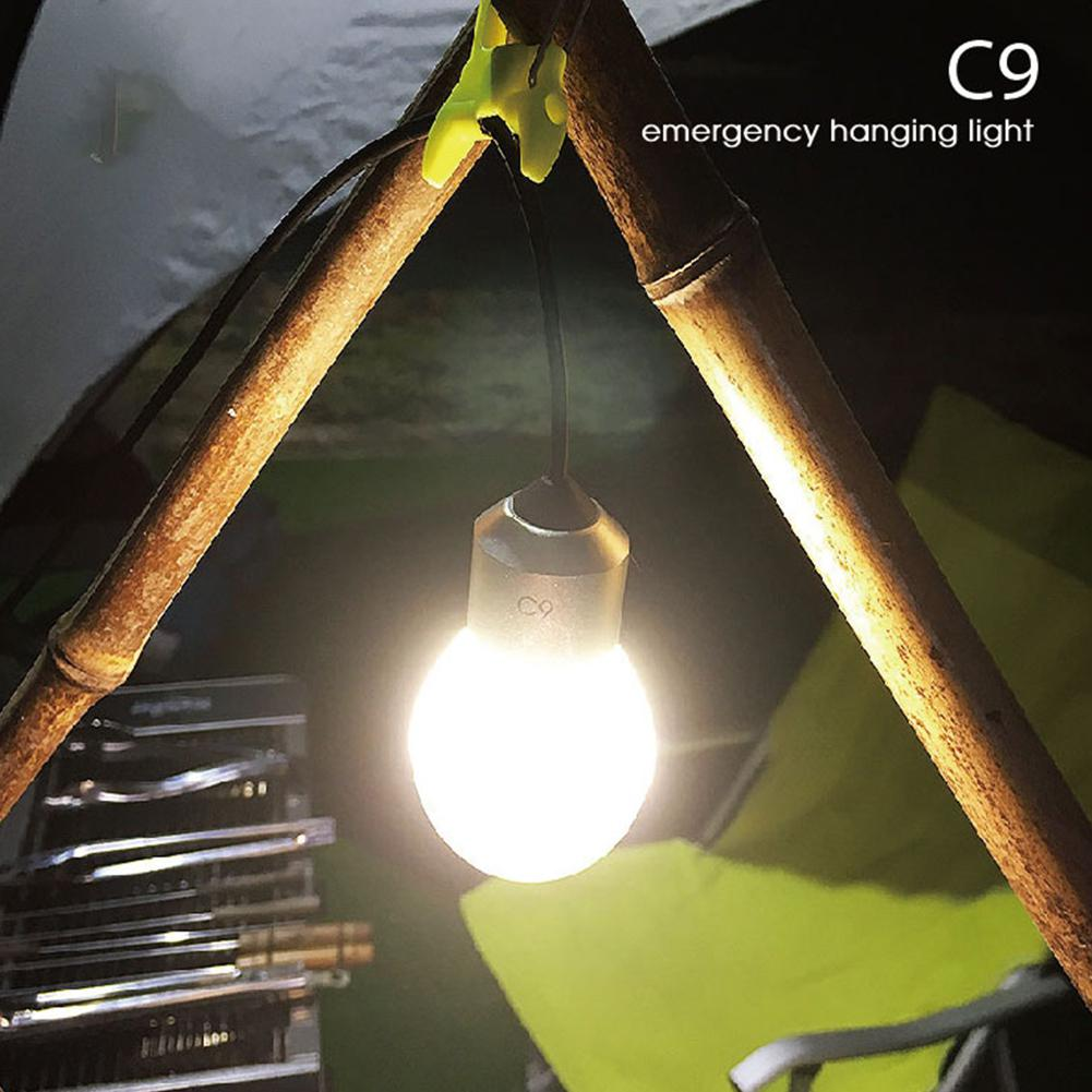 Mounchain Mini Hanging Lights Camping Tent LED Chandelier Domestic Night Lamp Emergency Lantern