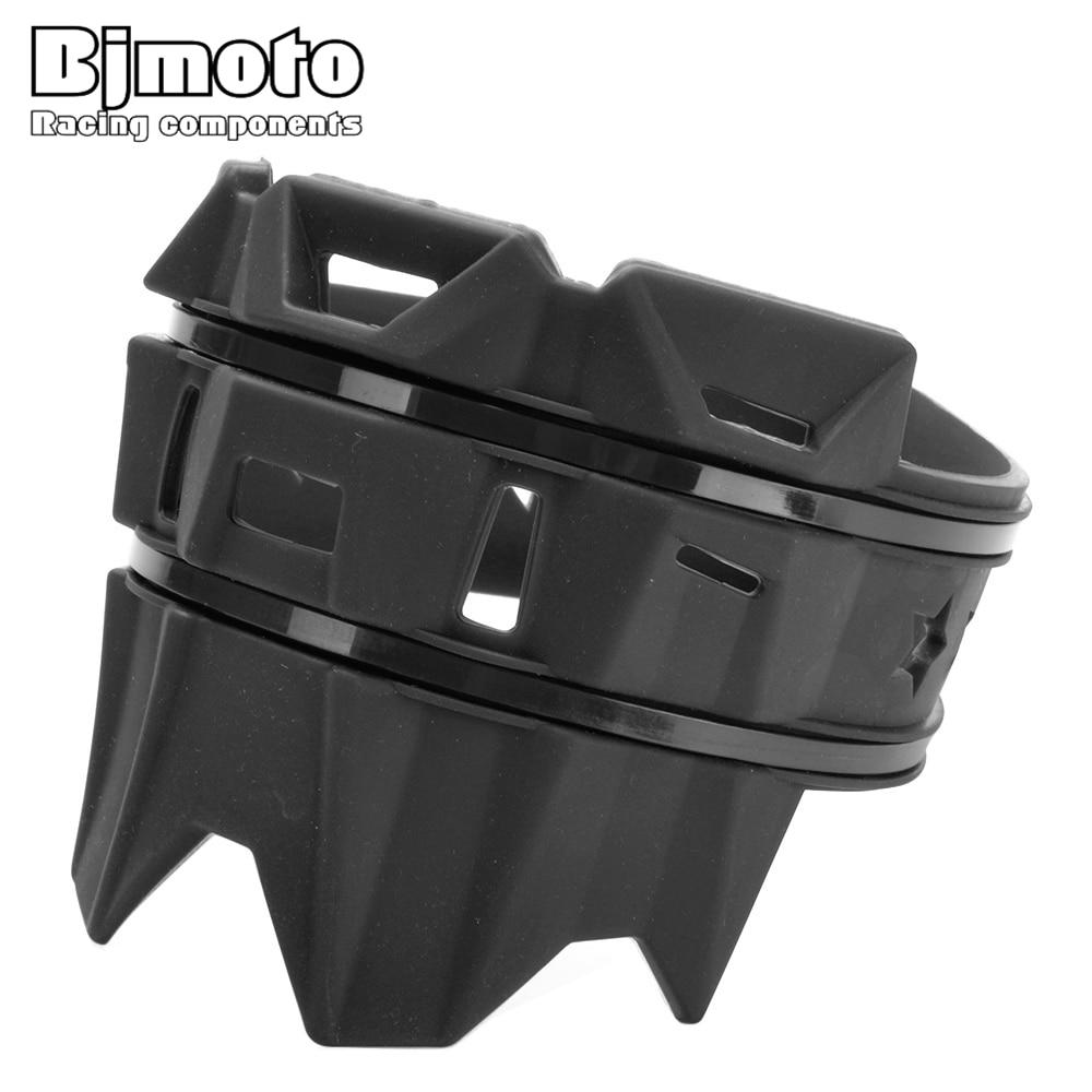 BJMOTO Universal Motocross Rubber Muffler Pipe Guard Anti-hot Protector For KTM Honda Yamaha Kawasaki Suzuki BMW Ducati