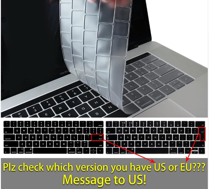 Waterproof Silicone Keyboard Cover for Macbook 1