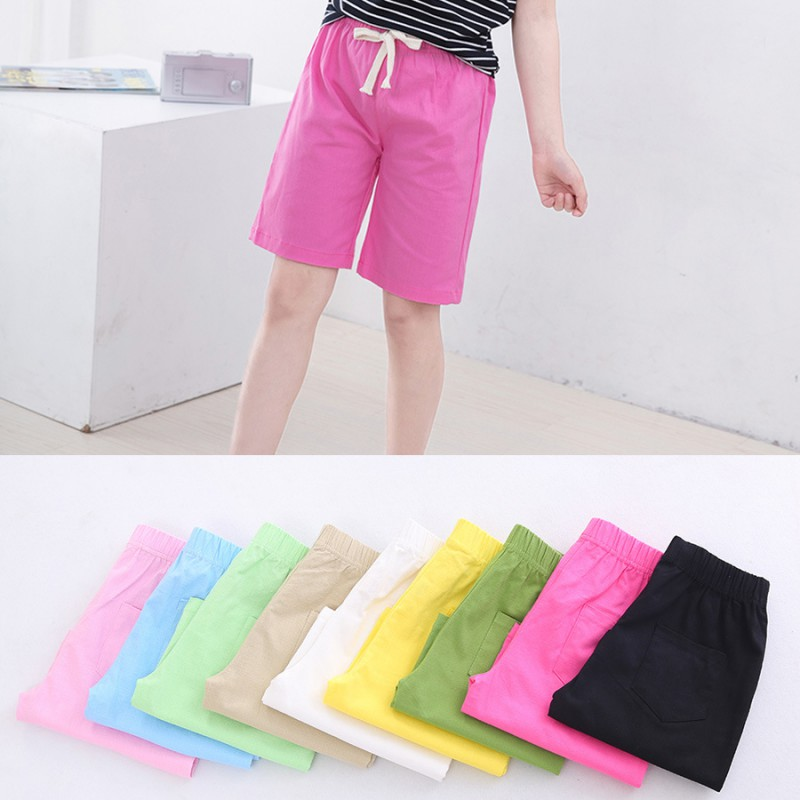 Summer Boys Kids Solid Children Swimming Beach Holiday Casual Pants New Removing Obstruction