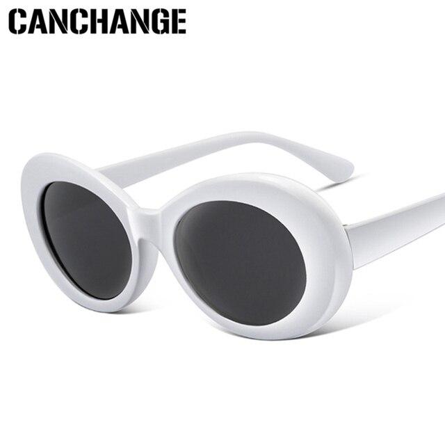 CANCHANGE Oval Óculos De Sol Mulheres Glasse Óculos Retro Óculos De Sol Dos Homens Masculinos Do Sexo Feminino Rodada Óculos de Sol UV400 oculos de sol feminino