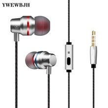 YWEWBJH In Ear Wired 3.5mm Earphone Earbuds Music Headphone for Samsung Iphone Smartphone with Microphone Wired Headset hot sale universal 3 5mm in ear music earbuds ear buds earphones for iphone for samsung professional earphone headphone headset