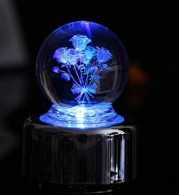 Crystal Ball Music Box Hot Selling Creative Birthday Gift For Girlfriend Home Decoration Accessories Novelty Luxury Music Box