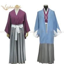 Kisstyle Fashion Hakuoki Toshizo Hijikata Uniform Cosplay kimono Clothing Costume,Cusomized Accepted