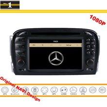Para Mercedes Benz R230 SL-Classe 2003 ~ 2008-GPS Car Navigation Stereo Radio CD DVD Player 1080 P HD Tela Original Design sistema