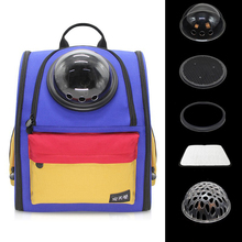 DannyKarl High Quality Cat Out Of The Box Dog Travel Portable Backpack Collapsible Canvas Pet Large Capacity Space