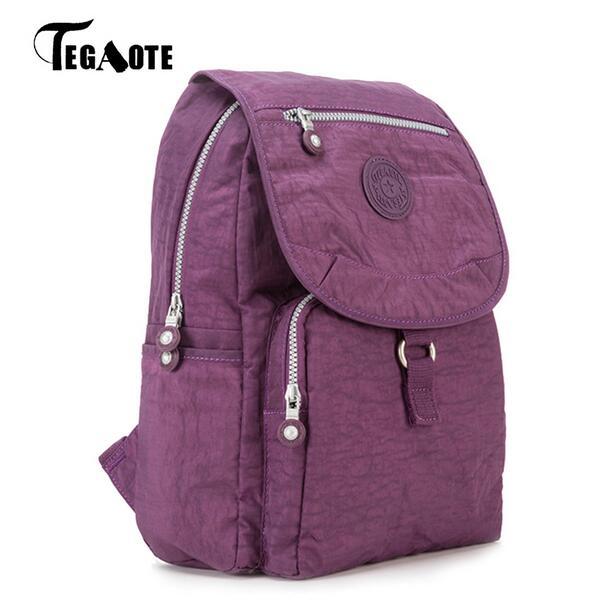 TEGAOTE Women Backpack Small Cute Backpack for Teenage Girls Mochila Feminine Female Famous Casual Travel Bagpack Sac A Dos 1326