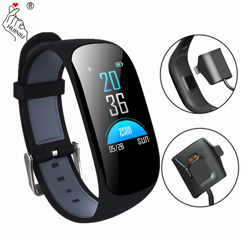 Color Screen Smart Bracelet Heart Rate Wristband Pedometer GPS Fitness Tracker Bluetooth 4.0 Sports smartband for IOS Android mymei bluetooth pedometer tracker smartband remote camera wristband for android ios sc