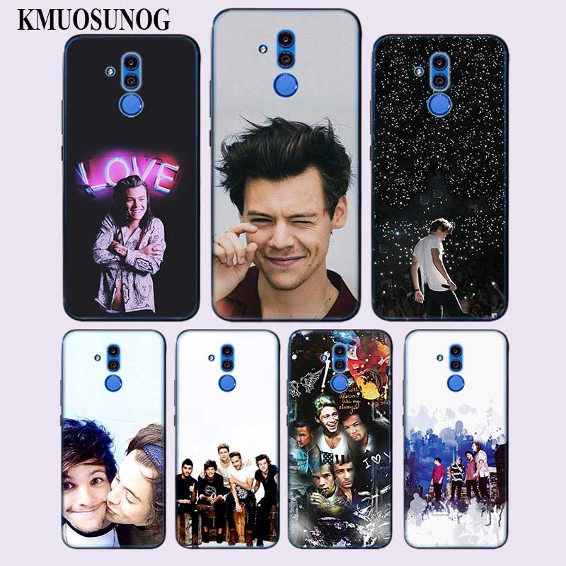 Transparent Soft Silicone Phone Case best One Direction Collection for huawei Mate 20 Lite Pro P Smart Plus Cover