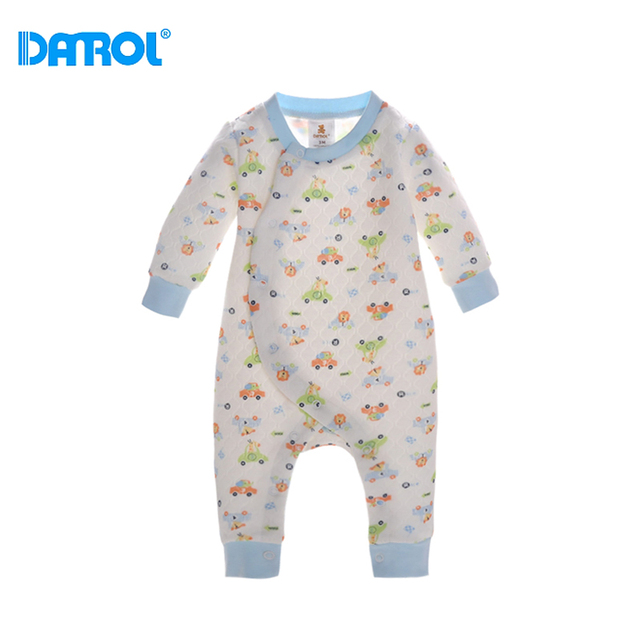 3 12m 2017 Good Cotton Baby Clothes Long Sleeve New Born Clothes