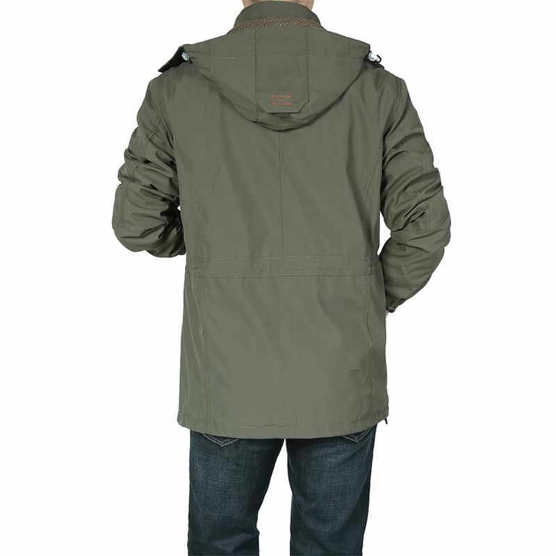 AFS ジープブランド服爆撃機ジャケット男性秋冬マルチポケット防水軍事戦術ジャケットウインドブレーカー男性コート