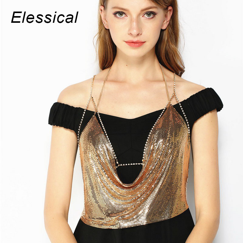 Elessical Summer Beach Body Jewelry Gold Color Single