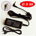 Для ASUS Eee PC 701 701SDX REV02 900 901 902 904 1000 Ноутбук Зарядное Устройство/Адаптер Переменного Тока 12 В 3A 36 Вт