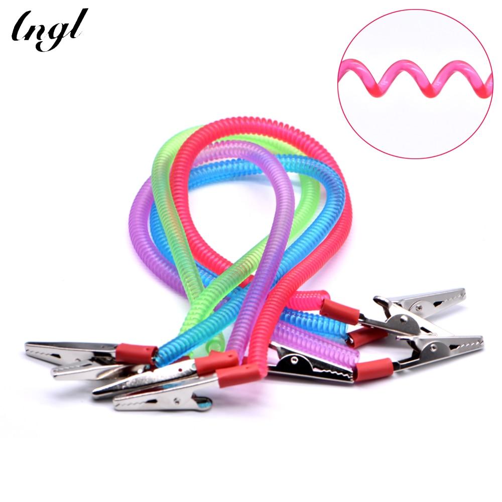 1 pc Dental Scarf Clip Oral Dental Supplies Scarf Clip/Napkin Holders/Spring Rope Dental Tools Dentist Lab Material(China)