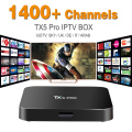 Europe Arabic French IPTV Channels included Android 6.0 TV Box S905X TX5 PRO Support Sport Canal Plus French Iptv Set Top Box
