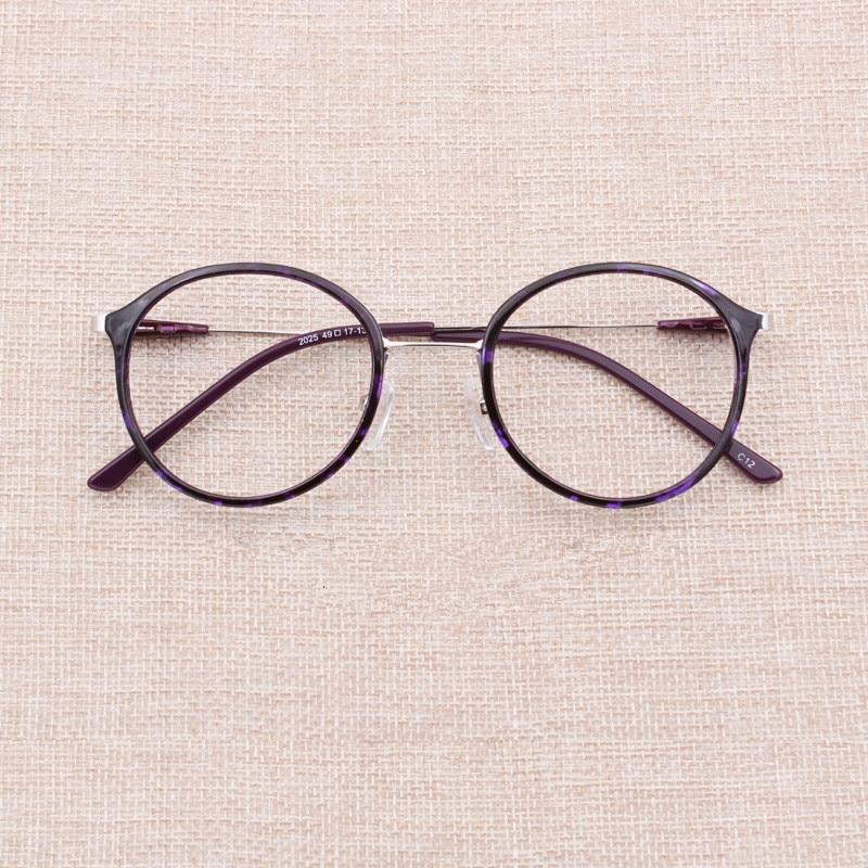 083406efec353 Retro Round Eye Glasses Frame For Men Women Tr90 Frames Eyeglasses ...