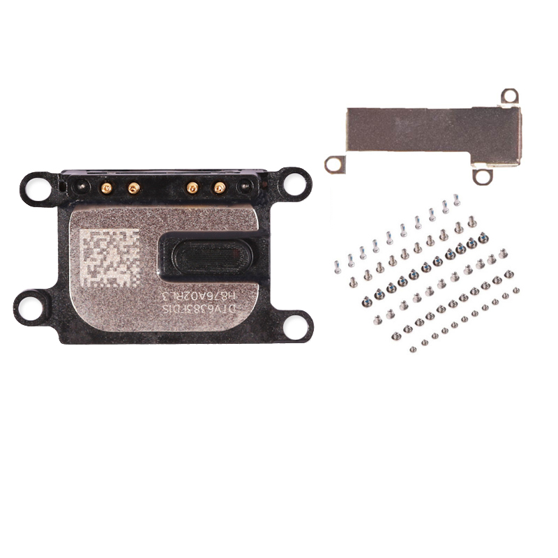 US $2 15 |3Pcs/1set For iPhone 7G 8G 7 8 Plus Earpiece Speaker +full set  screws + earpiece Small Metal Internal Bracket metal parts-in Mobile Phone
