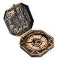1 stück Halloween Cosplay Pirate Kompass Prop Ohne Kompass Funktion Gefälschte Kompass Halloween COS Partei Liefert