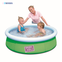 Thickening super solid adult paddling pool saucer family children pool garden paddling pool 152*38CM