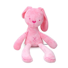 Cute soft smooth plush long-legged rabbit doll newborn toy baby sleeping appease gift boys and girls 2 colors