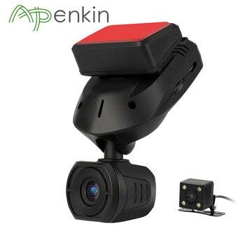 Arpenkin מיני Q9 רכב DVR דאש מצלמה אחורית עם קבלים FHD 1296 P חניה מצב GPS זיהוי תנועה לסובב 330 תואר