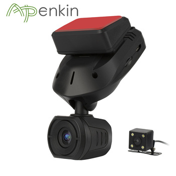 Arpenkin Mini Q9 รถ DVR Dash กล้องด้านหลังที่มีตัวเก็บประจุ FHD 1296 P โหมด GPS Motion Detection หมุน 330 องศา