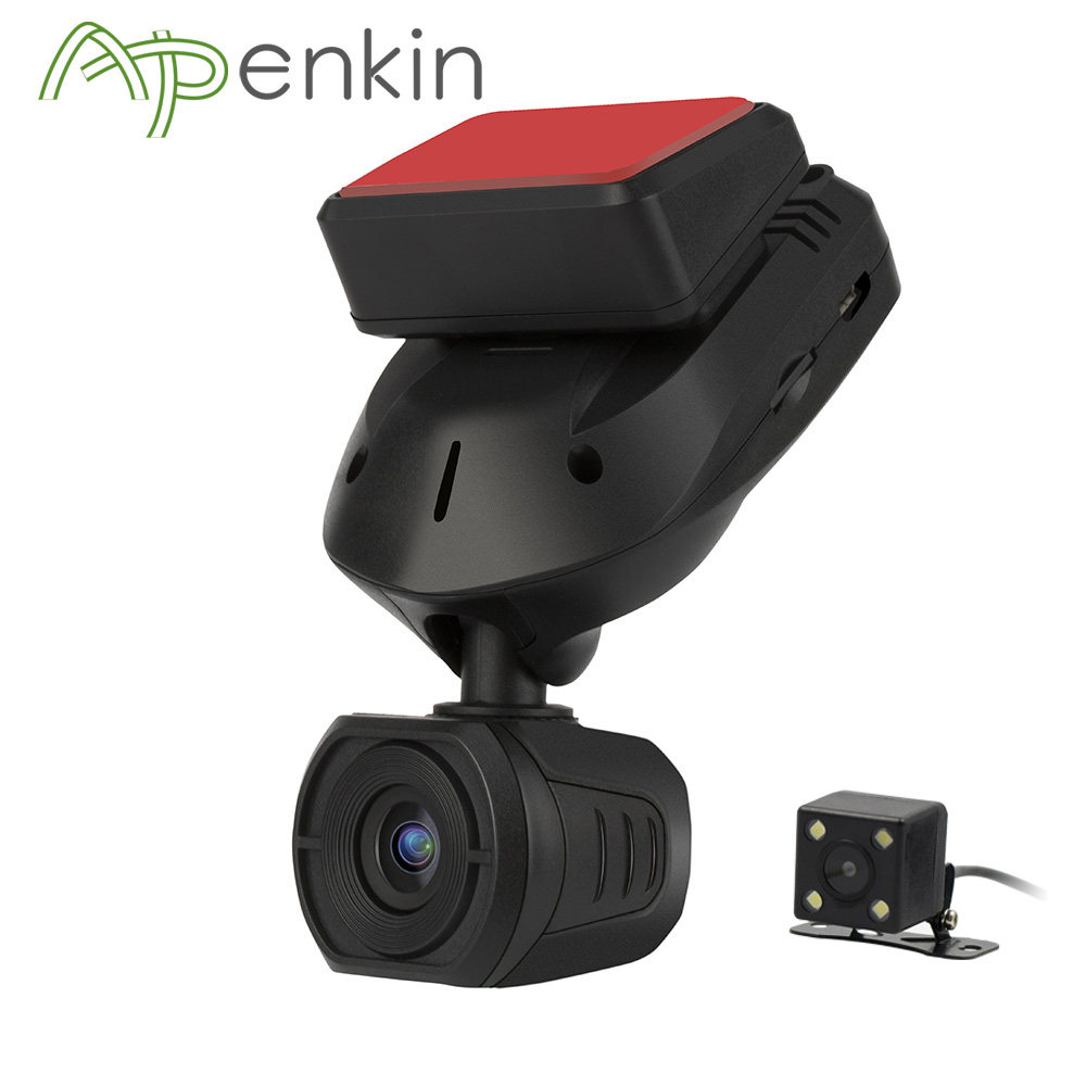 Arpenkin Mini Q9 Car Dash Camera Rear view With Capacitors FHD 1296P Parking Mode GPS Motion Detection Rotate 330 Degree