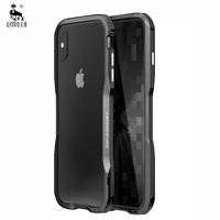 For Apple Iphone X Case Ultra Thin Luxury Slim 3D Metal Shockproof Armor Funda Protective Cover
