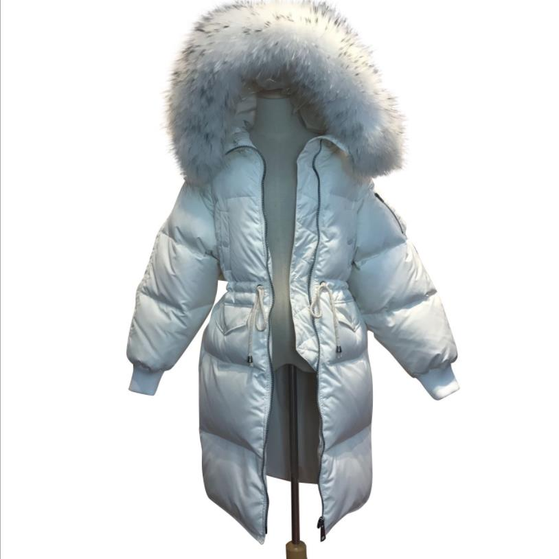 2019 winter new fashion brand good quality   down     coats   female thicken White duck   down   jackets outerwear warm tops gx1428