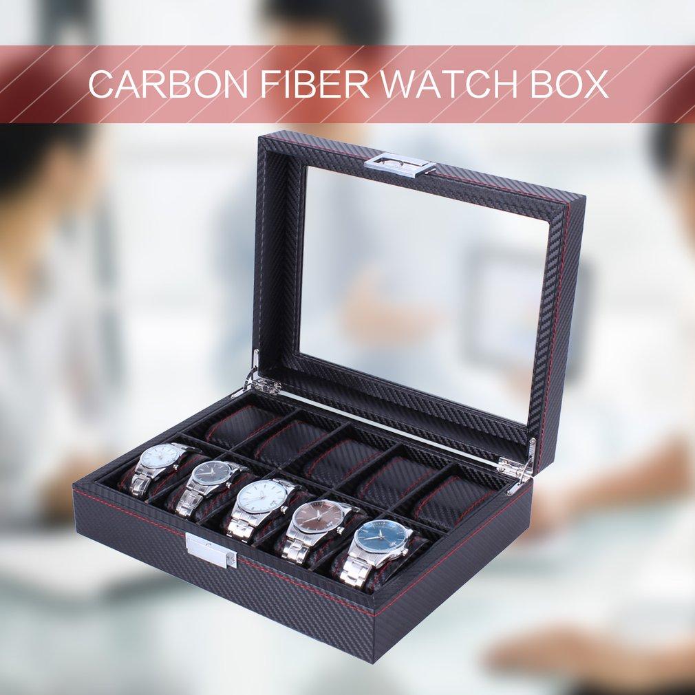 carbono, caixa organizadora de armazenamento, exibição de