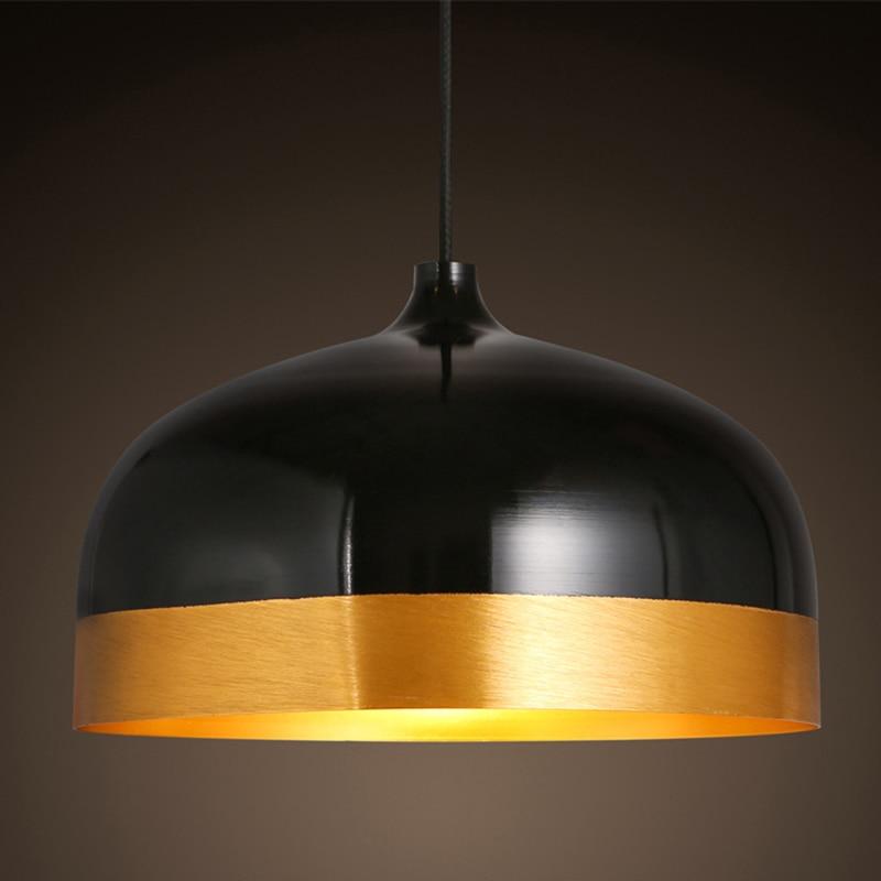ФОТО Modern pendant lights for living room dining room restaurants aluminum body LED pendant Lamp fixtures industrial cage lighting