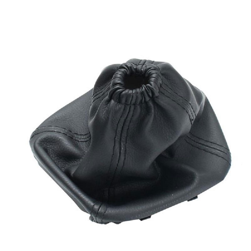 Car Gear Stick Shift Gaiter Leather Boot Cover Black PU Leather For Ford Transit Van MK7 2006-2013