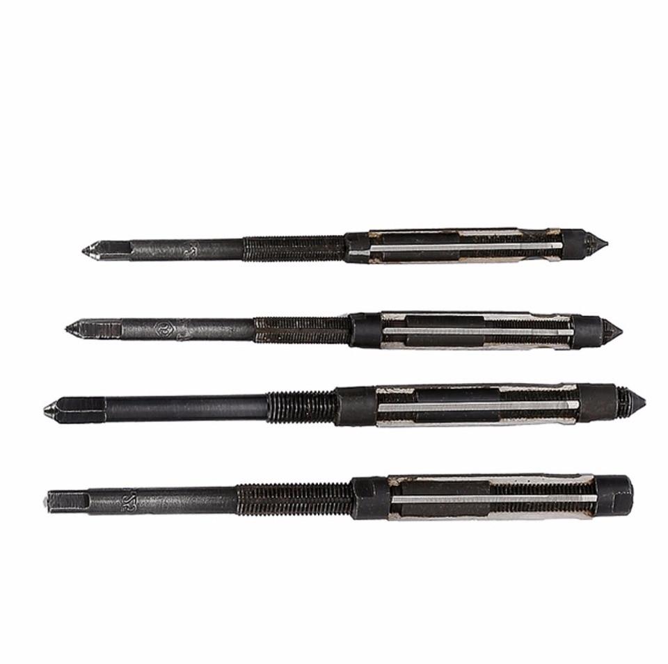10.75-11.75mm Adjustable Hand Reamer HSS H8 6 Straight Flute Milling Cutter Tool