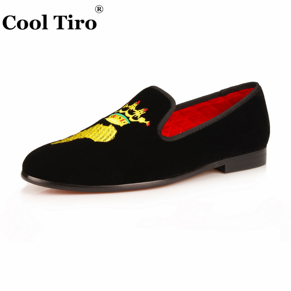 ... slip on Flats Formal Shoes Wedding Men s Dress Shoes Casual shoes  business shoes large sizes. 2 5 6 7 8 9 11 Velvet Slippers Loafers  Embroidery map 5df818657ecb
