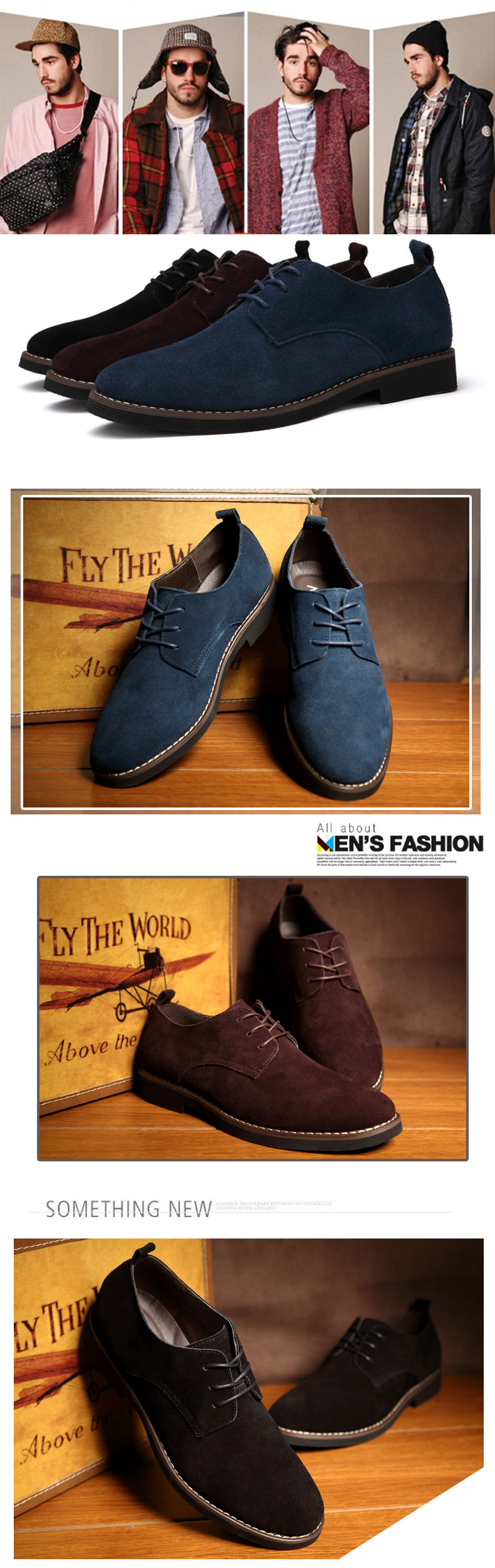 HTB1BTQGXjzuK1RjSspeq6ziHVXas ROXDIA plus size 39-48 genuine leather men casual flats waterproof dress oxford man shoes lace up for work male loafers RXM098